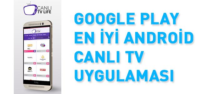 En iyi Android Canlı Tv Uygulaması