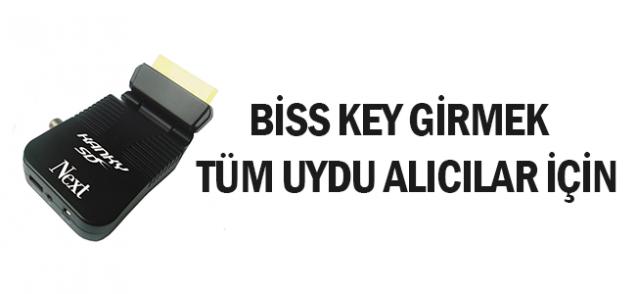 Biss Key Nasıl Girilir?