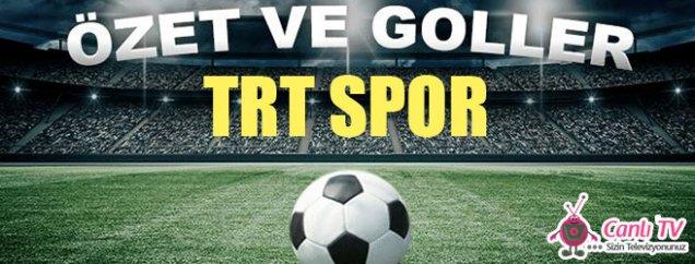 TRT Spor Maç Özetleri izle