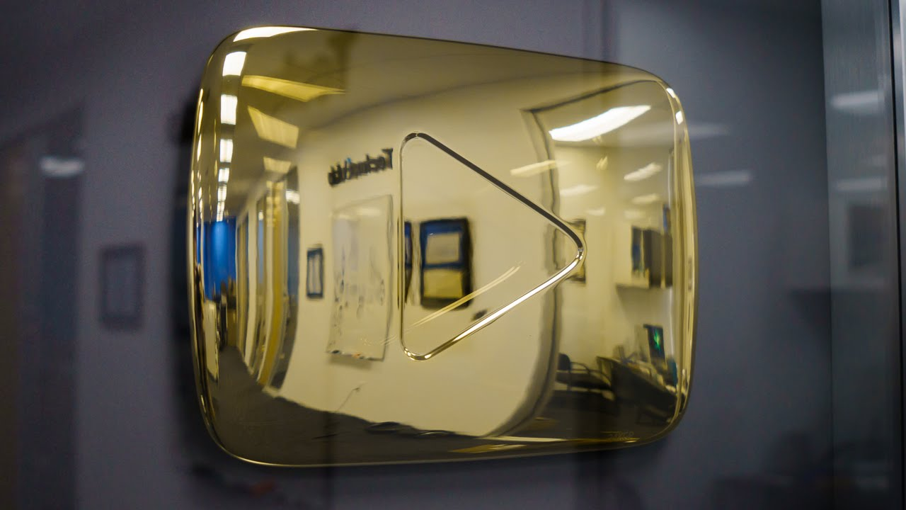 youtube gold play button